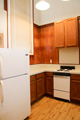kitchen - refrigerator and stove/oven